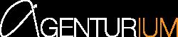 Agenturium Amazon Agentur, logo white